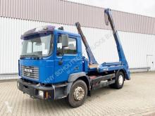 MAN skip truck 18.284 4x2 BB 4x2 BB Tele-Absetzer eFH.