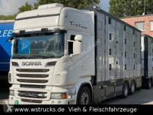 Camion bétaillère Scania R R 560 Topline Menke 4 Stock Hubdach