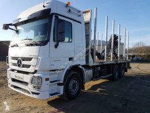 Used timber truck Mercedes Actros