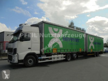 Vrachtwagen met aanhanger Volvo FH13 FH 13-460 Jumbozug 112 m³ 6x2 tweedehands met huifzeil