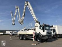 Used concrete pump truck truck Iveco Trakker AD380T41 6x4 Betonpumpe 35m Cifa K35/XZ