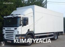 Ciężarówka Scania P230 Euro 5 kontener 18 palet winda klapa furgon używana