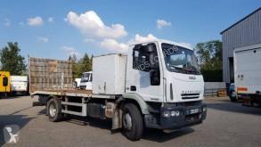 Camion porte engins occasion Iveco Eurocargo 160 E 22 K tector
