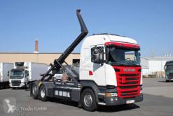 Scania R 410 6X2*4 Lenkachse Meille K 20.70 etade LKW gebrauchter Abrollkipper