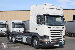 Scania R 450 SC Only! BDF Standklima ACC 2xTank truck used chassis