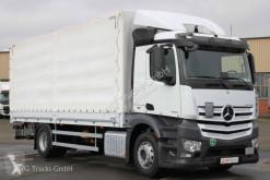 Ciężarówka Plandeka używana Mercedes Antos 1833 L Pritsche Plane LBW Retarder Liege