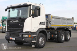 Camion Scania G 450 6X4 Kipper Bordmatik Retarder Liee LASI benă trilaterala second-hand