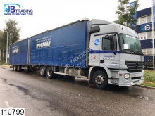 Used tautliner trailer truck Mercedes Actros 2541