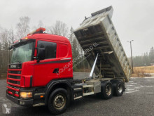 Camion Scania R124 GA 6x4 Dumper Truck (Volvo-Renault) benne occasion