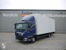 MAN box truck TGL 12.220 BL, EUR6, Koffer mit Seitentür, Navi