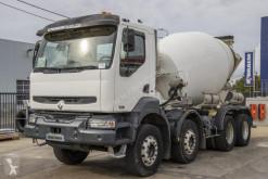 Camion betoniera cu rotor/ Malaxor second-hand Renault Kerax 420 DCI
