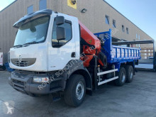 Camion cassone Renault Kerax Andere 430 DXi 6x4 SHD/Klima/Tempomat/eFH.