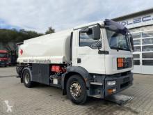 Camion citerne hydrocarbures MAN TGM 18.330 Tankwagen Rohr 14.000 L Untenbefüll.