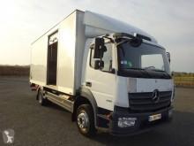 Camión furgón caja polyfond usado Mercedes Atego 1218 NL 42 C