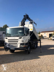 Used construction dump truck Scania P 380