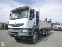 Camion Renault Kerax 410 DXI plateau ridelles occasion