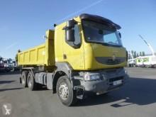 Vrachtwagen tweezijdige kipper Renault Kerax 410