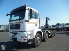Used hook arm system truck MAN TGA 35.480