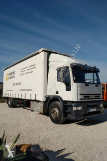 Iveco Eurotech 190E27 truck used tautliner