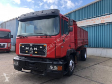 Camion MAN 19.362 FULL STEEL KIPPER (EURO 2 / ZF16 MANUAL GEARBOX / FULL STEEL SUSPENSION) benne occasion