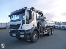 Used two-way side tipper truck Iveco Trakker 410 EEV