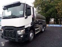 Camion citerne alimentaire occasion Renault C440 milktank 2 compartiments 15000L