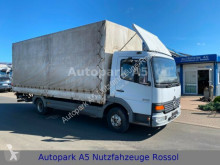 Mercedes 818 Atego Pritsche Plane Ladebordwand truck used tarp