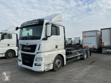 Camion châssis occasion MAN TGX 26.460 LL Jumbo, Multiwechsler 3 Achs BDF W