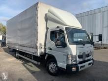 Camião caixa aberta com lona Mitsubishi Fuso Canter 7C15