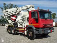 Camion Iveco Eurotrakker 340E35 H Cursor béton malaxeur + pompe occasion