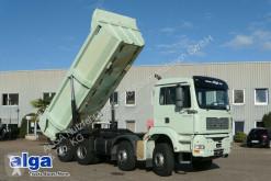 MAN skip truck 35.390 TGA/8x4/16 m³./Schalter/Klima