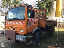 Used two-way side tipper truck Renault 200