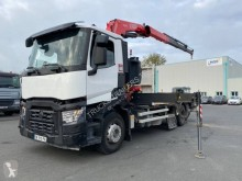 Camion plateau standard occasion Renault Gamme C 380
