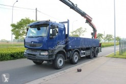 Camion plateau ridelles occasion Renault Kerax 450 DXi