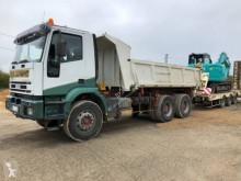 Iveco two-way side tipper truck Eurotrakker