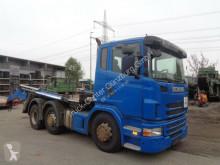 Camion dublu second-hand Scania G G 400 6x2 VLA Retarder Gergen Absetzer
