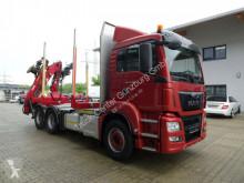 MAN timber truck TGS TGS 26.480 6x4 Penz Kran EU6 Retarder