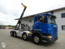 Used hook arm system truck Scania G G 480 8x4 Palfinger T22A Knickarm EURO 6