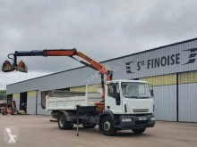 Used two-way side tipper truck Iveco Eurocargo 190 E 25 tector