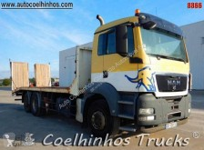 Camion MAN TGS 26.400 porte engins occasion