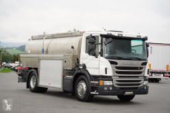 Scania L - P320 / EURO 6 / AUTOCYSTERNA DO MEKA / 11 000 gebrauchter Tankfahrzeug Lebensmittel