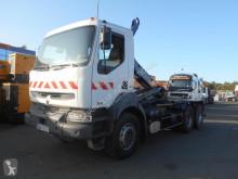 Camión Gancho portacontenedor Renault Kerax 320