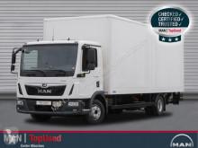 Camião MAN TGL 12.250 4X2 BL Koffer 7,1m, LBW, Klima furgão usado