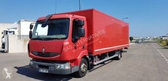 Renault plywood box truck Midlum 180.12 DXI