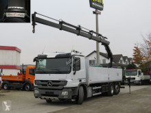 Mercedes Actros 2536 L 6x2 Pritsche Heckkran 4xhydr.+Funk truck used dropside