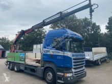 Camion Scania R 450 plateau accidenté