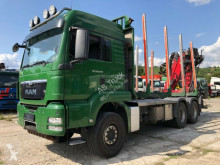 MAN timber truck TGS 26.540 6x4 Kran Epsilon 150Z Motor überholt