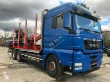 MAN timber truck TGX 26.540 6x4 Kran Hiab 120 S 79 Aufbaulange 7.