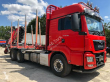 MAN timber truck TGS 26.480 6x4 Kran Epsilon M13Z83 Retarder