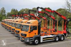 Camion trasporto tronchi MAN TGS 26.440/6X4/L: 6,4M/ EPSILON M110Z/10 UNITS!!